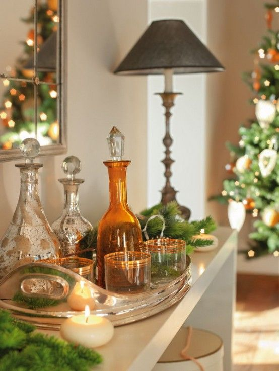 Home Accessories, Wonderful Spain Interior Christmas Decoration: Spanish  Modern House Design for Christmas Time - Home Accessories, Wonderful Spain Interior Christmas Decoration