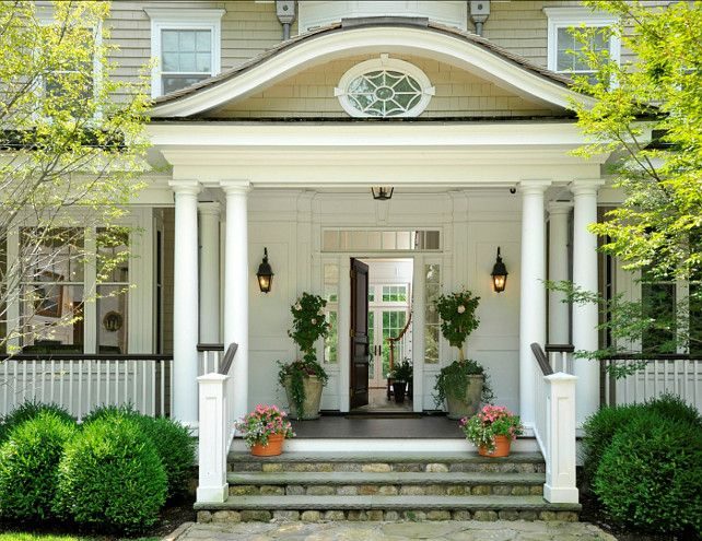 Front Door. Great Front Door and Entrance Desgn. Classic and elegant ...