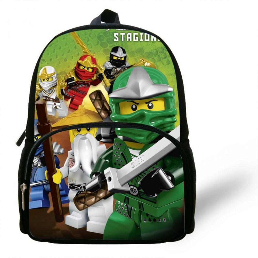 12inch Toddler Mochila Child Popular cartoon School Bag Kids Fashion small Ninjago  Backpack little Boys Girls Baby Bag di 2020