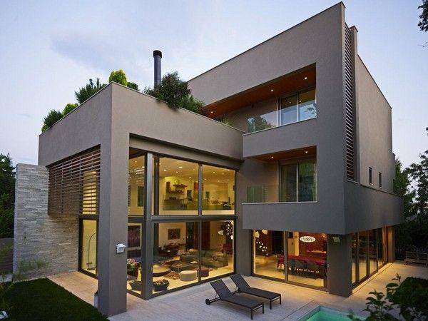Graue Fassade zeitgenössisches haus graue fassade jpg 600 450 pixel house