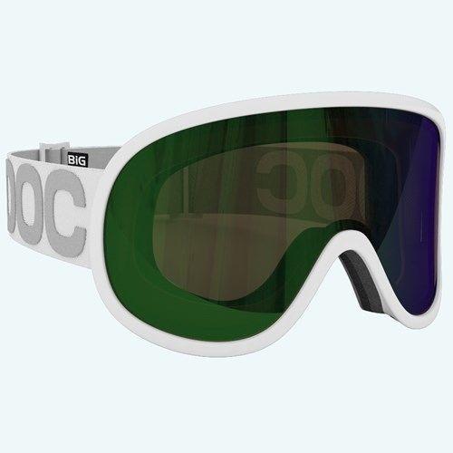 POC Retina BIG Goggles Ski Snowboard Hydrogen White Bronze Lens w/ Green Mirror