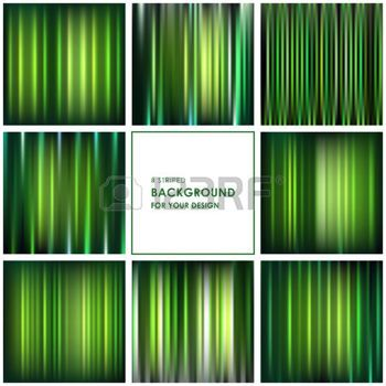 ripple effect: Abstract green striped background for your design