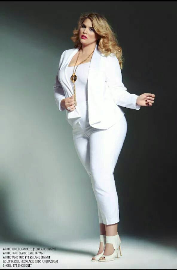 Plus size white dress suit - Page 5 of 5 | Style, Fashion & Me ...