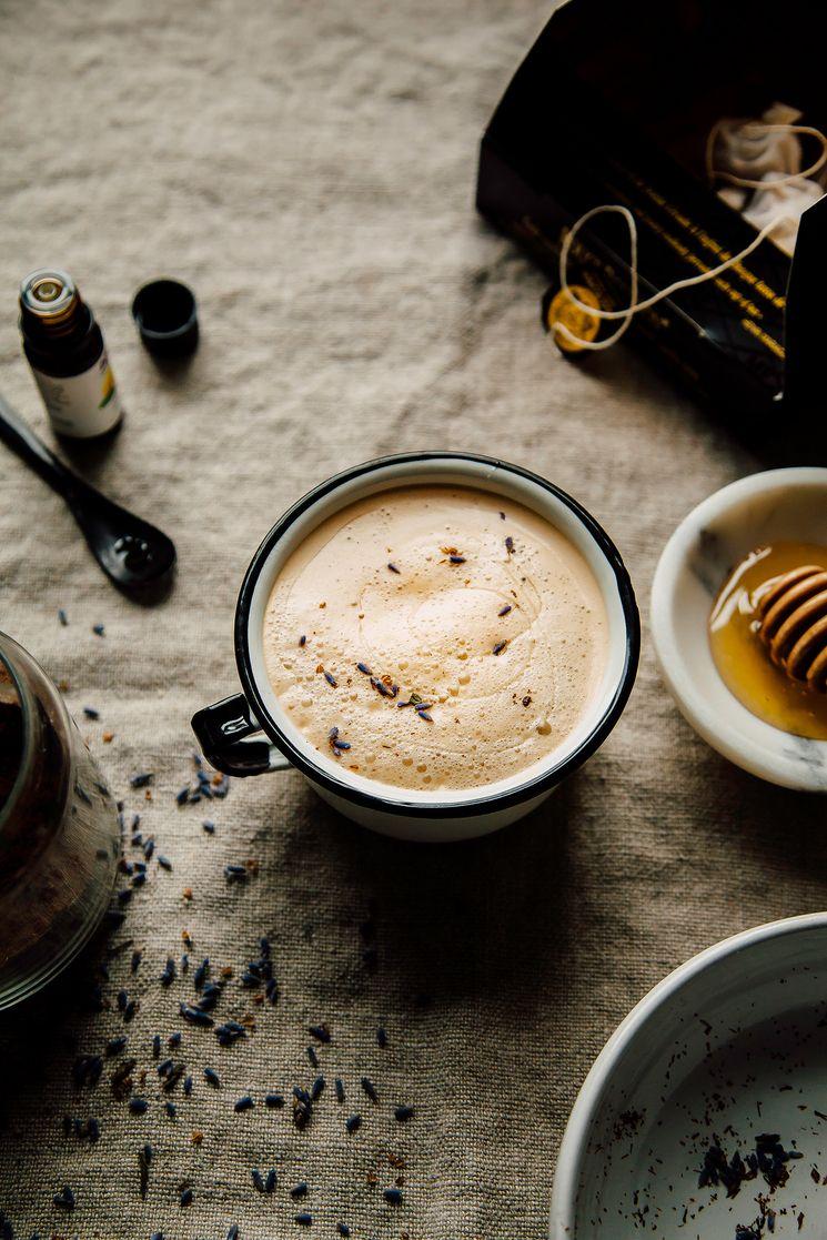 Lemon Lavender Tea Latte Tea Latte Tea Recipes Tea Latte Recipe