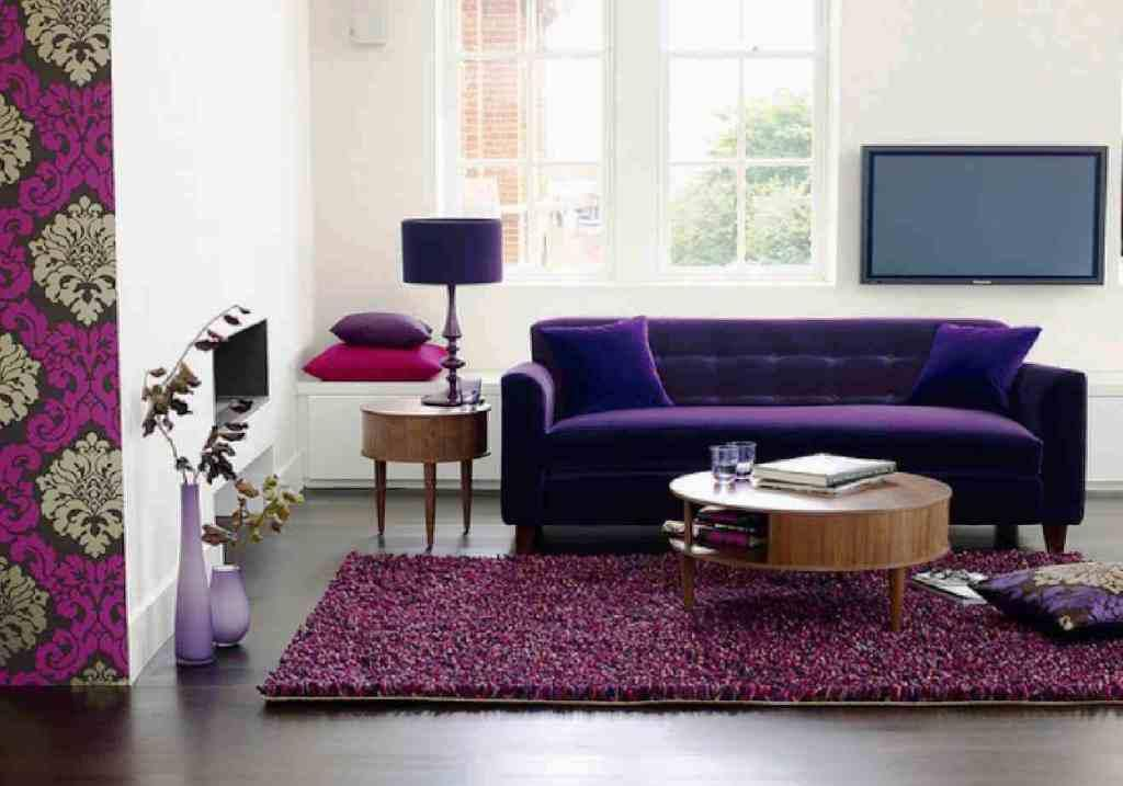 Purple Velvet Sofa And Loveseat Purple Living Room Purple Room Decor Sofa Decor #purple #couch #living #room #ideas