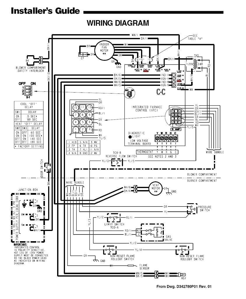 Trane Fan Coil Unit Wiring Diagram - Machine Repair Manual on
