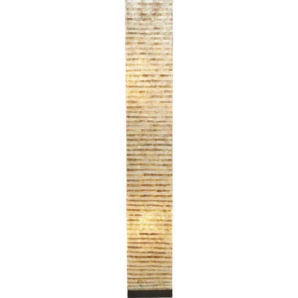 "Column Floor Lamp Pene 53"" Column Floor Lamp $171 ❤ Liked On Polyvore Featuring"