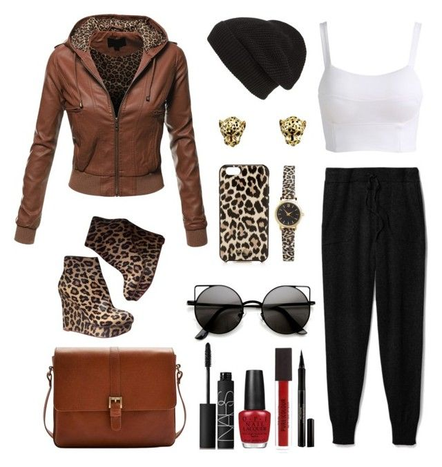 """Safari"" by slavenka555 ❤ liked on Polyvore featuring Phase 3, Charlotte Olympia, Doublju, Theory, Joules, Elizabeth Arden, OPI, NARS Cosmetics, Kate Spade and H&M"