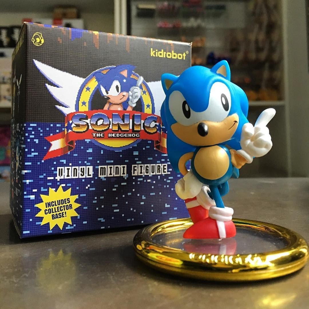 Shop Our Daily Deal Today To Save 15 Of Sonic The Hedgehog Blindbox Mini Series From Kidrobot Mindzai Dai Robots For Kids Vinyl Figures Sonic The Hedgehog