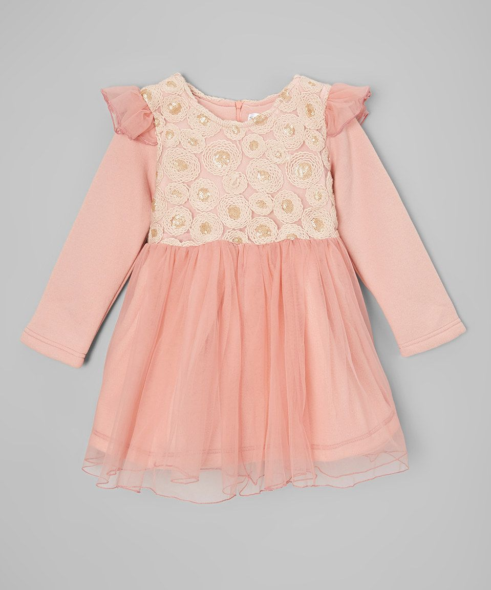 Pink Lace Flower Dress Toddler Girls By Poco Picotine Zulily