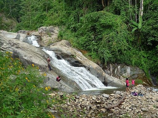 Waterfall Outside of Town, Pai, Thailand