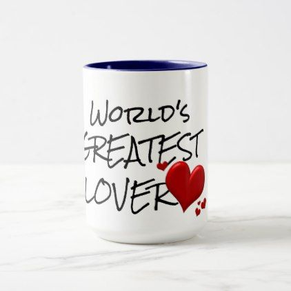 stylish design ideas unique coffee cups. worlds greatest lover cute chic coffee mug design  Saint Valentine s Day gift idea couple love Worlds Lovers