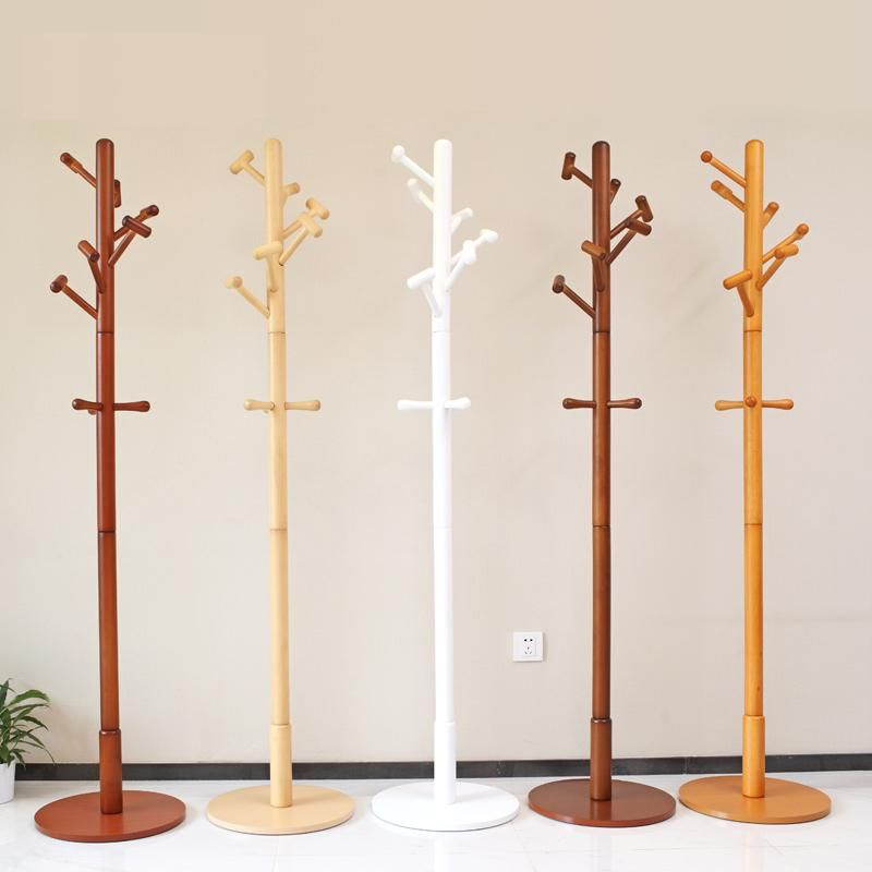 100 Wooden Coat Rack Hanger Hat Oak Wood Racks Multi Hooks Home Furniture Clothes Yesterday S Price Us 159 00 138 39 Eur