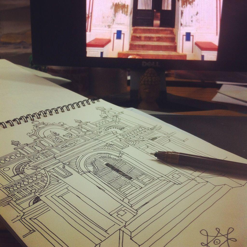 Traditional House Illustration