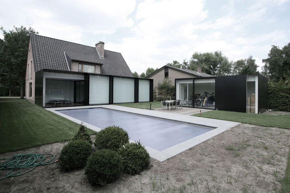 Maison \'House DS\' en Belgique | Extensions