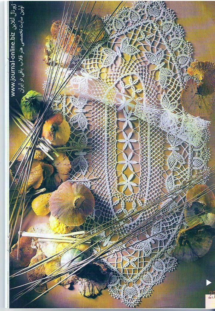 Crochet Tischdecke - Seite 7