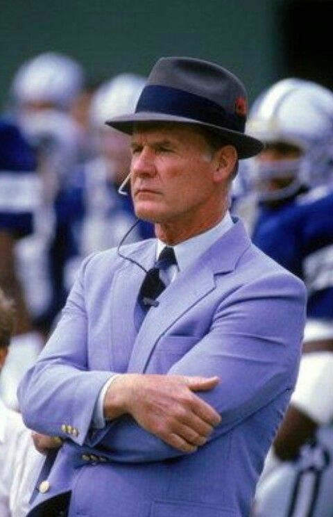 4994e9018360e Two-time Super Bowl Champion Coach Landry was a gentleman of deep Christian  faith