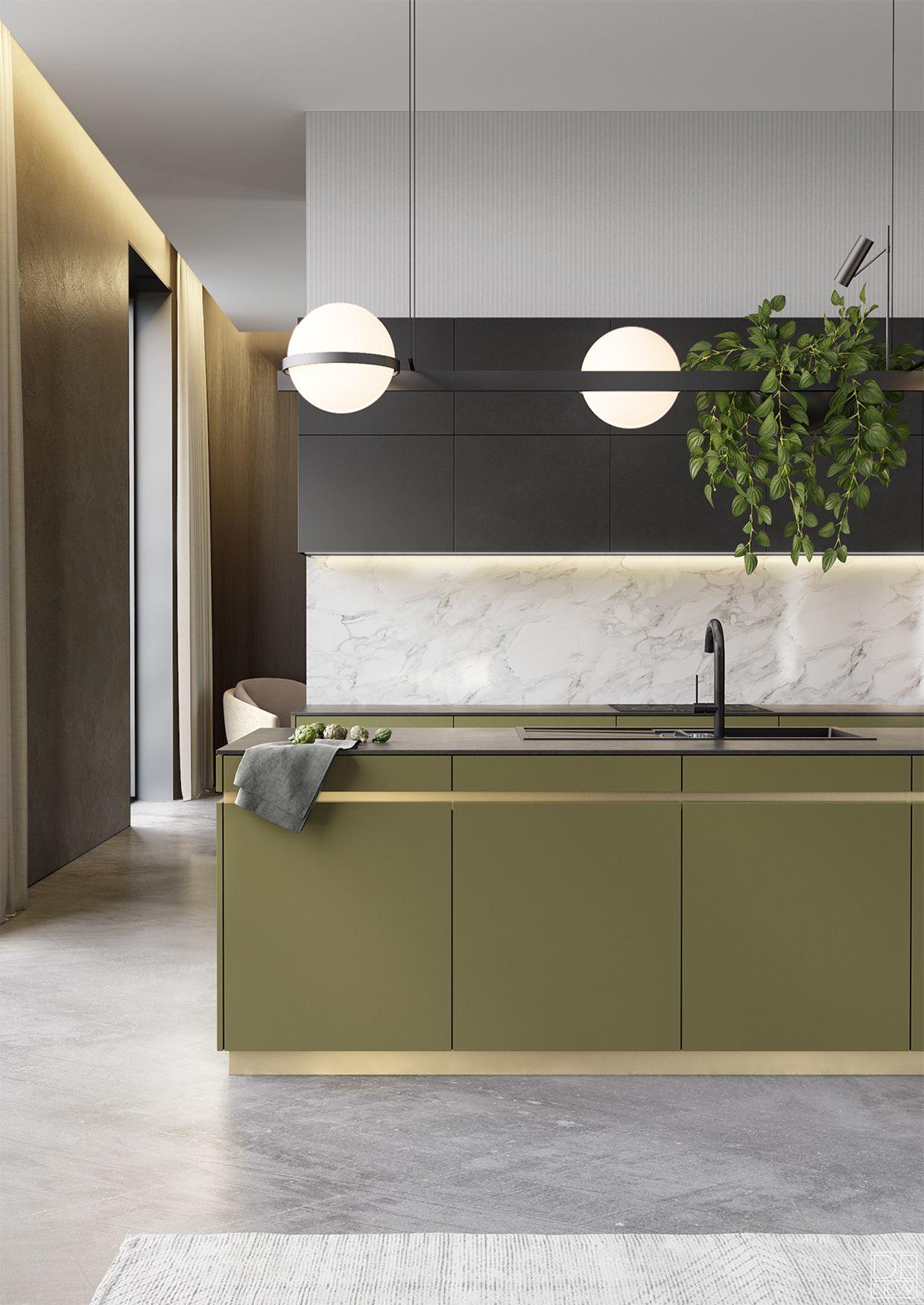 Accoppiata colori   cucina nel 2019   Cucine, Arredamento e Cucine ...