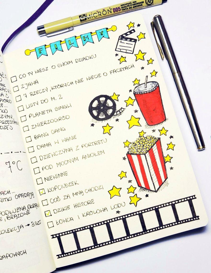 Movie List I Need A Youtube List Notebooksbullet Journal