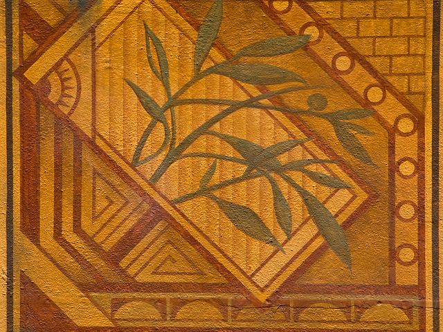 Lovely Art Deco Wall Mural Background Texture Pattern