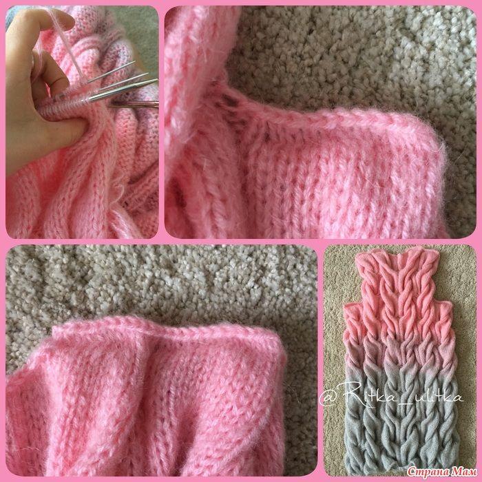 кардиган косы или шарпей в стиле лало örgü детское вязание