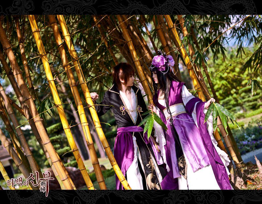 Soah & Mui (Bride of the water god) by ashteyz