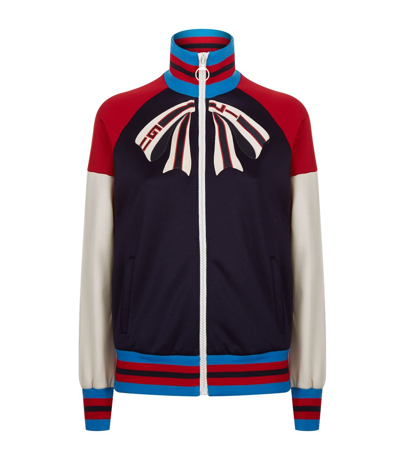 6254ca245db Shop the Gucci Guccify Yourself Track Jacket at Harrods. Shop online at  harrods.com   earn reward points.