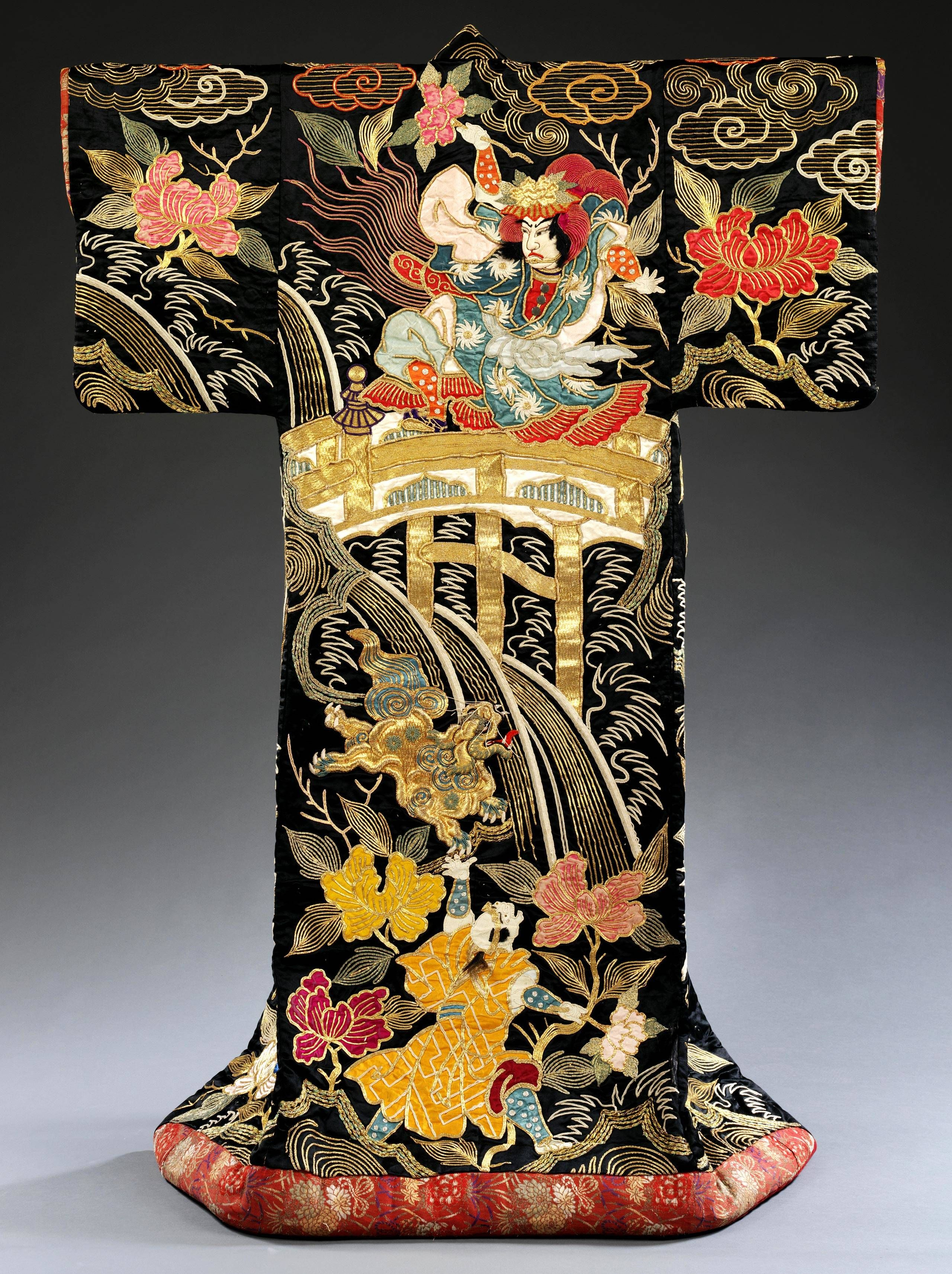 Photo Of Kimono For The Kabuki Theatre Japan