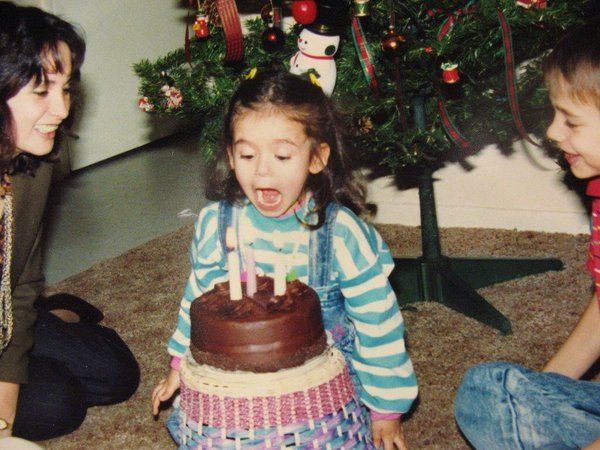 Little Nina on her B-day | Nina dobrev birthday, Nina dobrev style