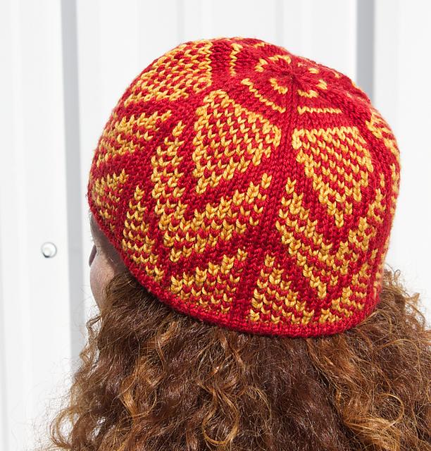 Chandelier Hat pattern by Natalie Servant | Hat knitting ...