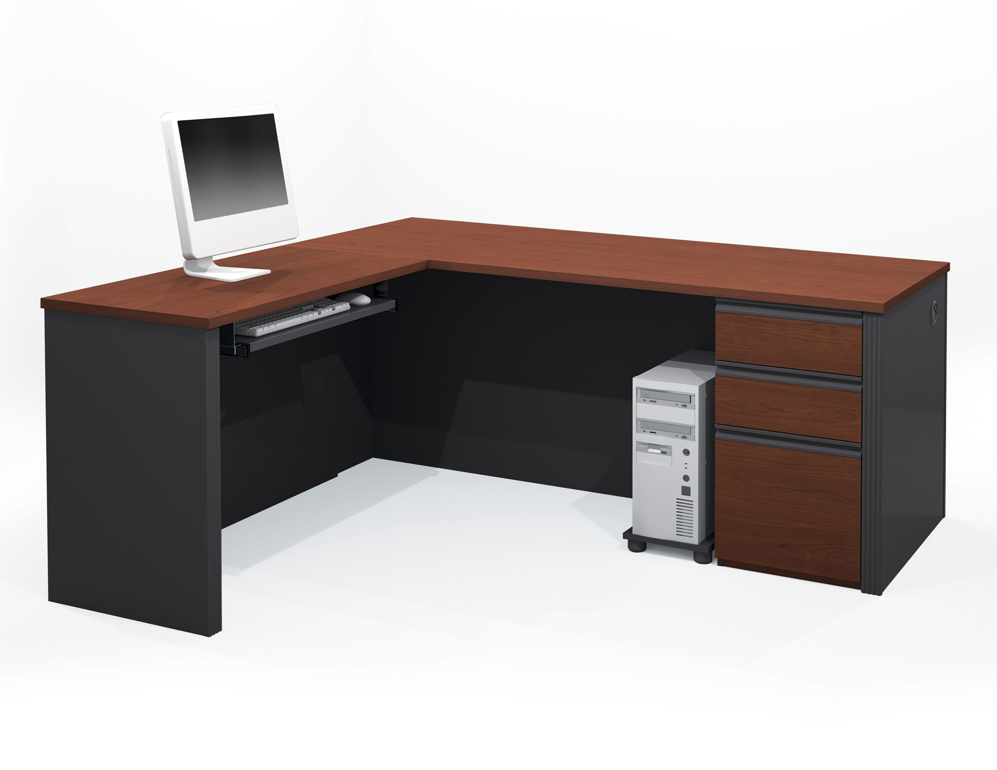 Good L Shaped Desk With Drawers New 28 In Home Furniture Ideas Besthomezone C