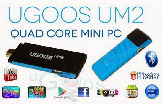 Download Android KitKat 720 firmware for Ugoos UM2 ~ China