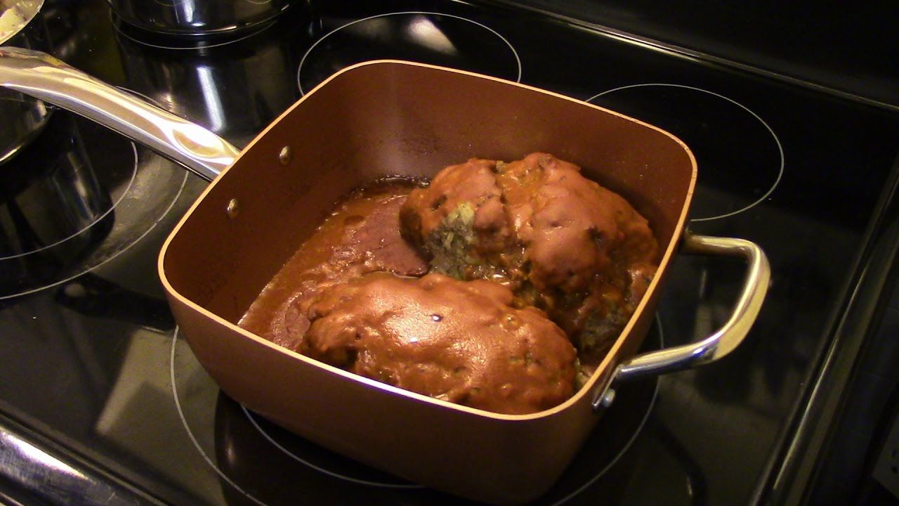 Meatloaf In The Copper Chef Pan Dinner Pinterest Chef Recipes