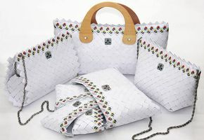 Posete De Hartie Buscar Con Google Handmade Bags Diy Bag Clutch Bag