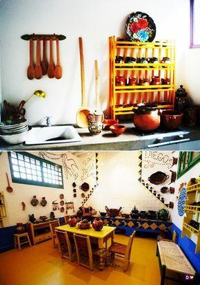 La Cocina De Frida Kahlo Y Diego Rivera Casa De Frida Kahlo Frida Kahlo Y Diego Frida Kahlo