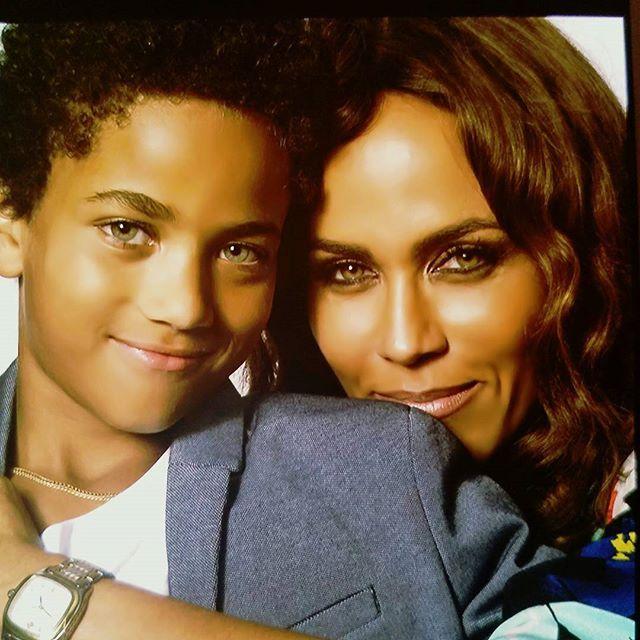 Nicole Ari Parker and son Nicholas | Nicole Ari Parker ...  Nicole Ari Park...