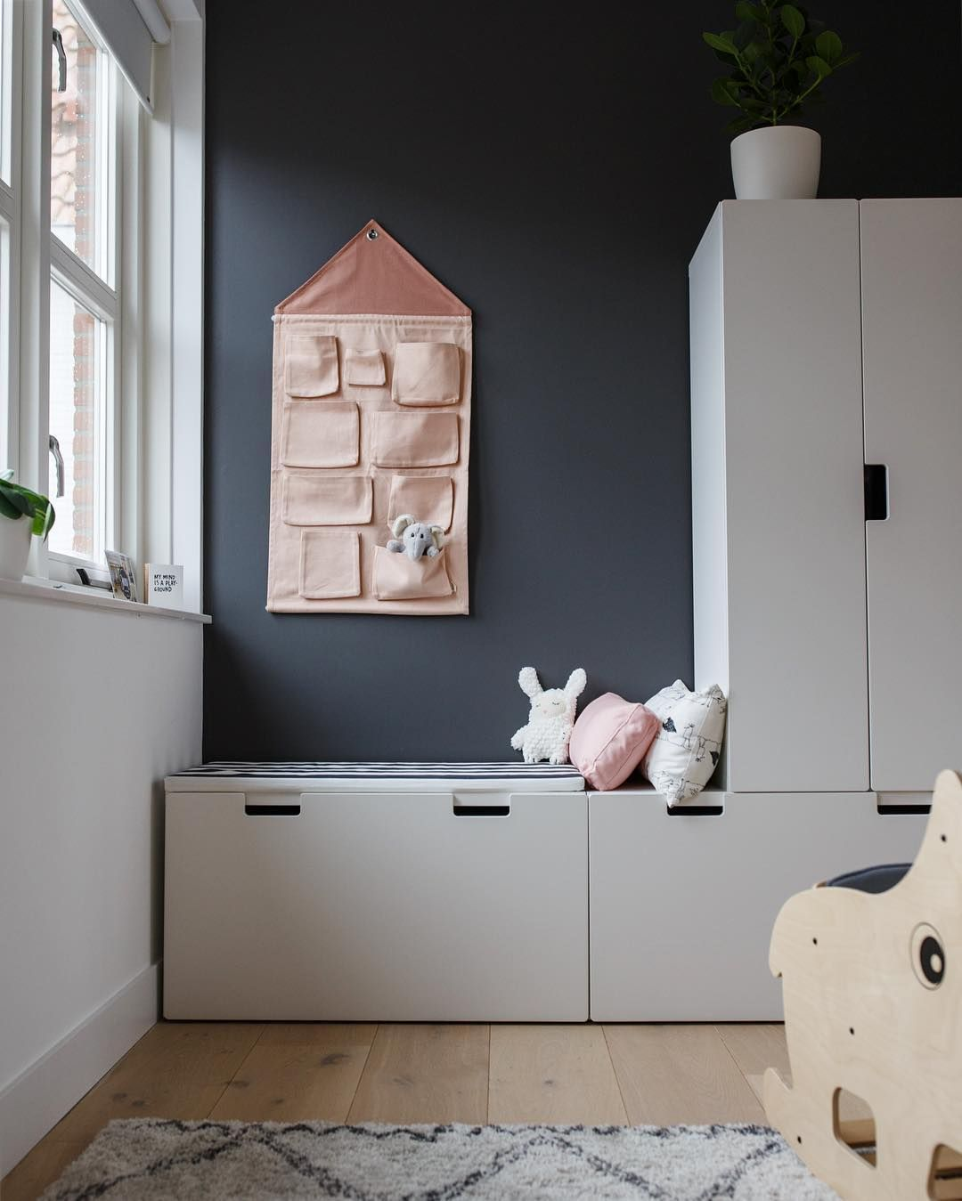 ferm LIVING Kids House wall storage: https://www.fermliving.com