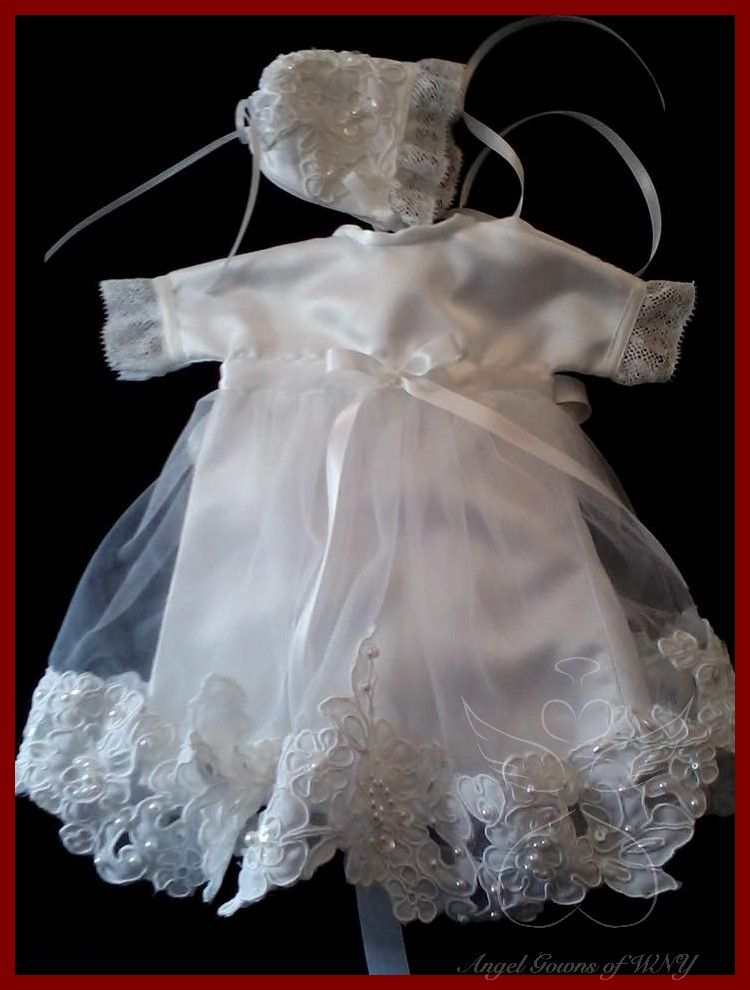 Made with love by a seamstress at Angel Gowns of WNY ♥
