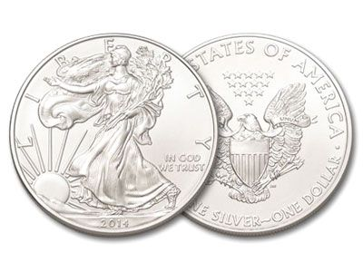 2014 Silver American Eagle 1 Ounce Coin Silver Eagle Coins Silver Coins Silver Dollar Value