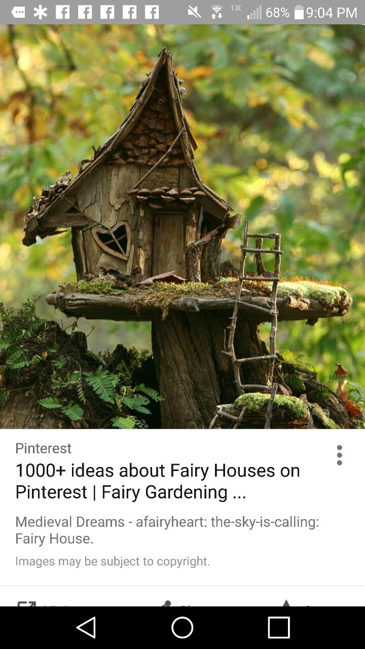 Pin by Laura Uhley Butler on Pixie Houses | Fairy houses, Home decor