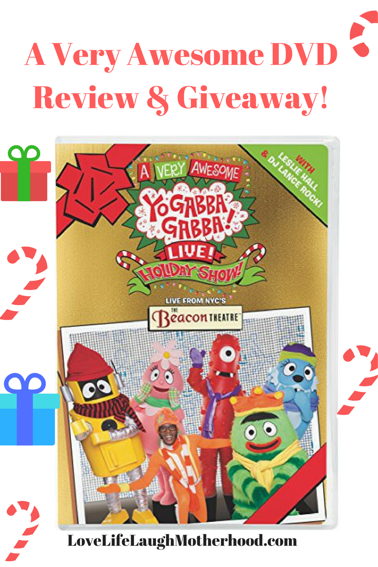 A Very Awesome Yo Gabba Gabba! Live! Holiday Show DVD