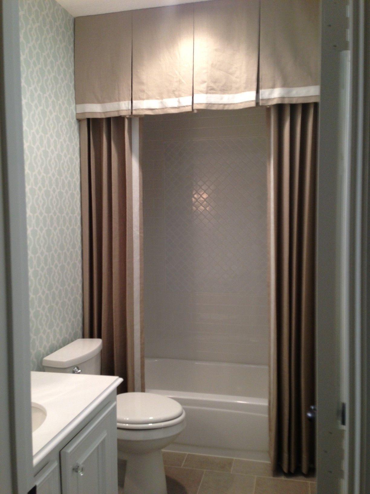 Image Result For Bathroom Window Valance Ideas