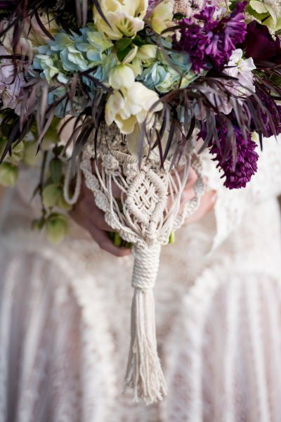 Pull off a Boho-Chic Wedding with These Macramé Details