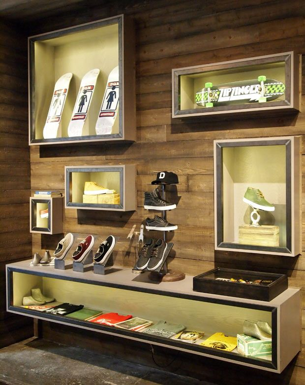 VANS x DQM now that's a grown up skate shop | Retail design