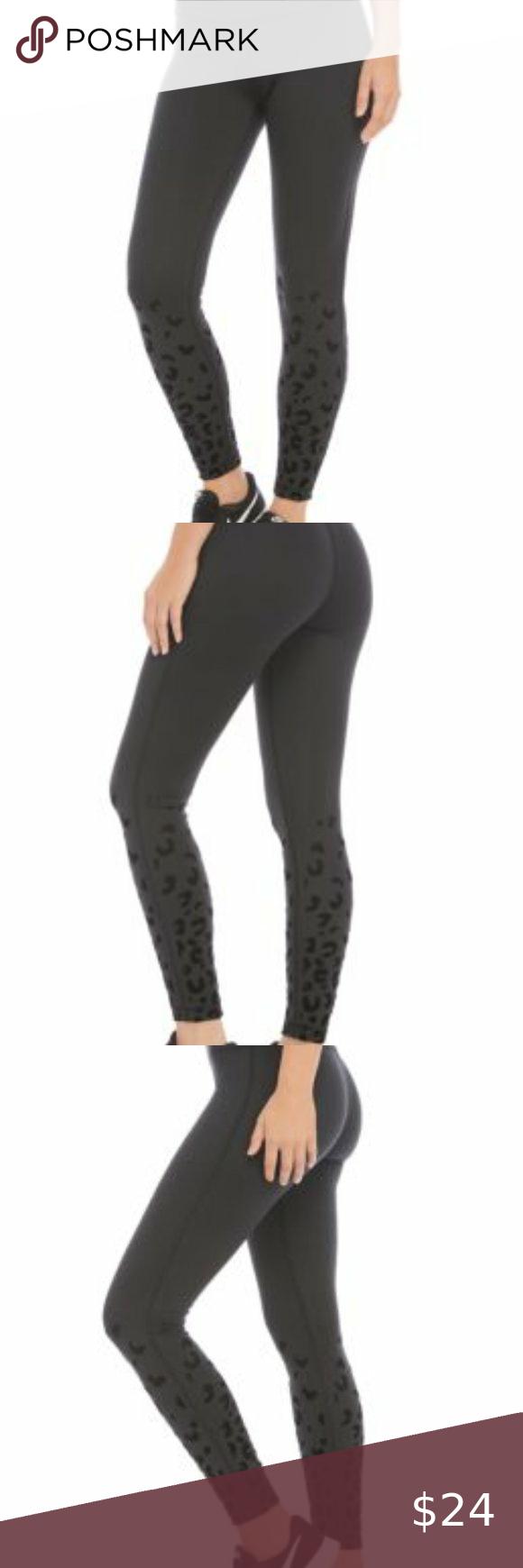 ZELOS Women/'s Workout Leggings Black Blue Polyester Spandex Plus Size 3X