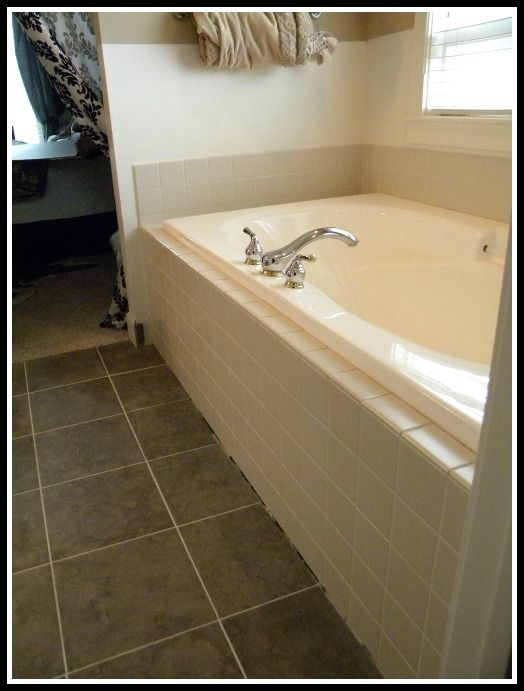 we updated our 90's bathtub in one weekend with less than $200