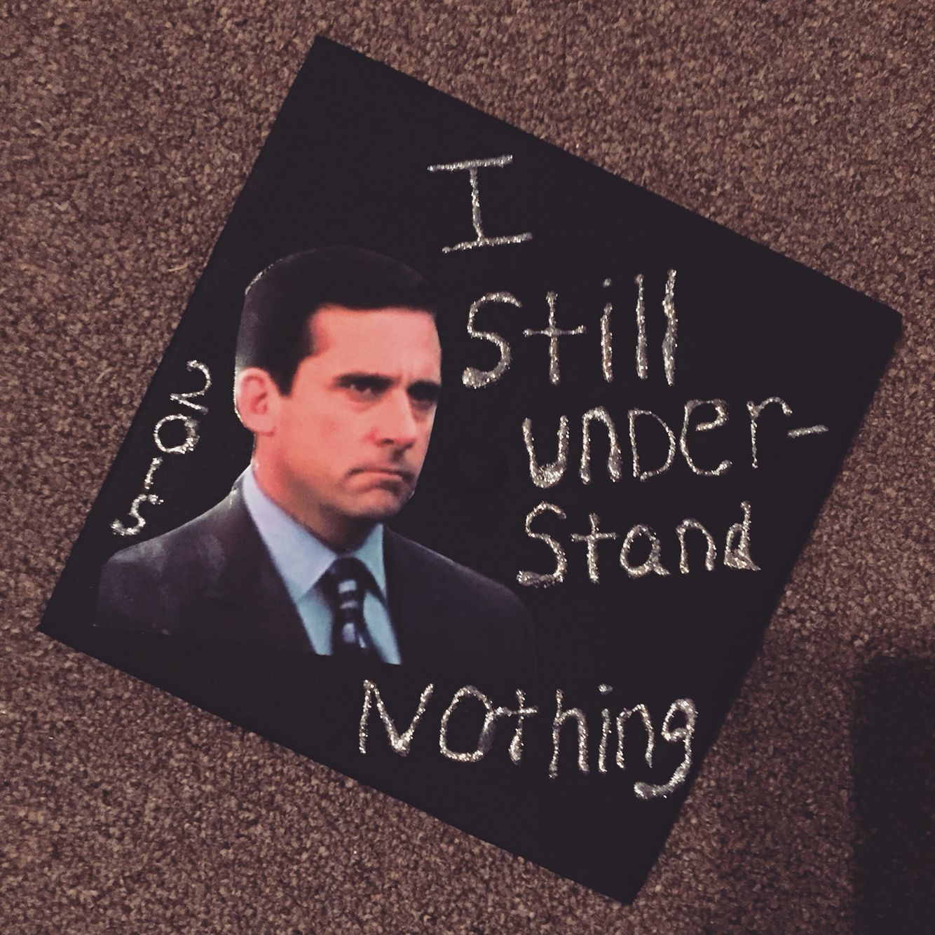 Senior Quote Ideas: 2015 Graduation Cap The Office