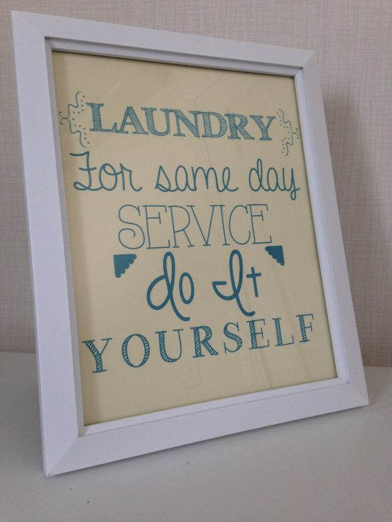 Framed 8x10 laundry for same day service do it yourself subway art framed 8x10 laundry for same day service do it yourself subway art print laundry solutioingenieria Choice Image