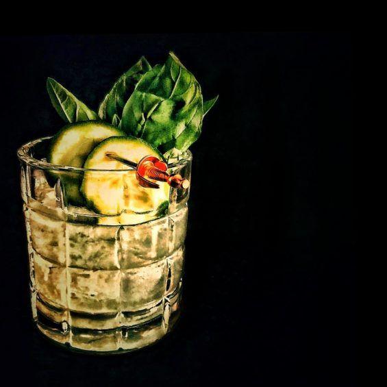 Cucumber, Cocktail Recipes