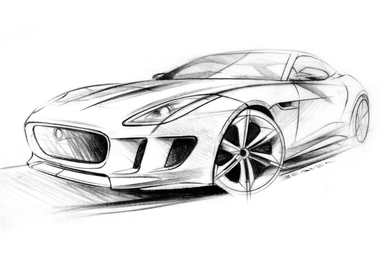 Jaguar FTYPE Concept Sketches @motocrit | TЯANSPOЯT | SKETCHES ...